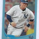 2013 Topps Baseball Walmart Blue Casey Mcgehee New York Yankees # 114