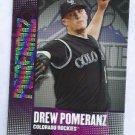 2013 Topps Baseball Chasing The Dream Drew Pomeranz Colorado Rockies # CD-14 Insert