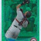 2013 Topps Baseball Green Foil Geovany Soto Texas Rangers # 184