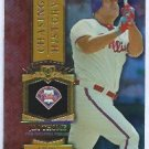 2013 Topps Baseball Chasing History Jim Thome Philidelphia Phillies # CH-39 GOLD FOIL VARIATION