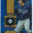 2013 Topps Baseball Chasing History Evan Longoria Tampa Bay Rays # CH-12 GOLD FOIL VARIATION