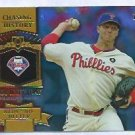 2013 Topps Baseball Chasing History Roy Halladay Philidelphia Phillies # CH-1 GOLD FOIL VARIATION