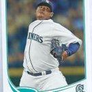 2013 Topps Baseball Felix Hernandez Seattle Mariners # 34