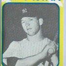 1980 Mickey Mantle Superstar Card New York Yankees # 32 Oddball