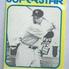 1980 Mickey Mantle Superstar Card New York Yankees # 33 Oddball