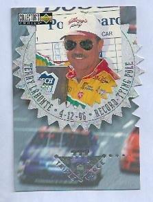 1996 Upper Deck Nascar Triple Force Terry Labonte # 1 of 3D