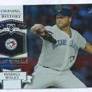 2013 Topps Baseball Chasing History Mark Buehrle Toronto Blue Jays # CH-44