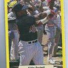 1987 Classic Yellow Green Back Kirby Puckett Minnesota Twins # 112 Oddball