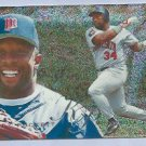 1995 Fleer Flair Showcase Kirby Puckett Minnesota Twins # 62