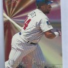 1995 Fleer Flair Kirby Puckett Minnesota Twins # 8 of 10