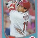 2013 Topps Baseball Wal Mart Blue Joey Votto Cincinnati Reds # 19