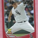 2013 Topps Baseball Target Red Addison Reed Chicago White Sox # 285 Rookie