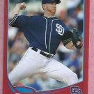 2013 Topps Baseball Target Red Dustin Moseley San Diego Padres # 77