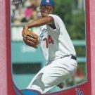 2013 Topps Baseball Target Red Kenley Jansen Los Angeles Dodgers # 74