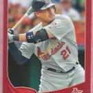 2013 Topps Baseball Target Red Allen Craig St Louis Cardinals # 321