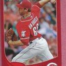 2013 Topps Baseball Target Red Logan Ondrusek Cincinnati Reds # 166