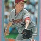 2013 Topps Baseball Wal Mart Blue Lucas Harwell Houston Astros # 164