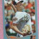 2013 Topps Baseball Wal Mart Blue Brian Matusz Baltimore Orioles # 217