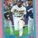 2013 Topps Baseball Wal Mart Blue Jason Heyward Atlanta Braves # 222