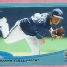 2013 Topps Baseball Walmart Blue Yovani Gallardo Milwaukee Brewers # 149