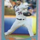 2013 Topps Baseball Walmart Blue Dillon Gee New York Mets # 156