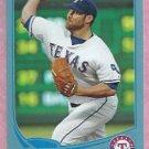 2013 Topps Baseball Walmart Blue Colby Lewis Texas Rangers # 248