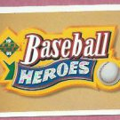 1991 Upper Deck Baseball Heroes Header Card Nolan Ryan