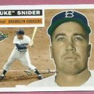 2004 Topps All Time Fan Favorites Duke Snider # 120 Brooklyn Dodgers