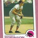 2004 Topps All Time Fan Favorites Brooks Robinson # 111 Baltimore Orioles