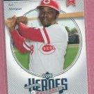 2002 Upper Deck Heroes Of Baseball Joe Morgan Cincinnati Reds # JMI