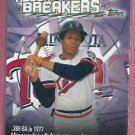 2002 Topps Record Breakers Rod Carew Minnesota Twins Angels # RB-ACA