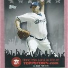 2009 Topps Toppstown CC Sabathia Milwaukee Brewers # TTT14 Yankees