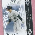 2008 Topps Moments & Milestones Matt Holliday Colorado Rockies # 125   119/150
