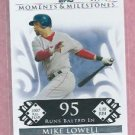 2008 Topps Moments & Milestones Mike Lowell Boston Red Sox # 102   138/150