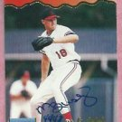 1995 Signature Rookies Preview Mike Busby St. Louis Cardinals #6 Autograph