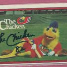 1982 Donruss The Famous San Diego Chicken Autograph # 531