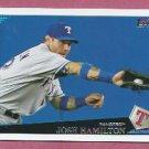 2009 Topps Baseball Josh Hamilton Texas Rangers # 250