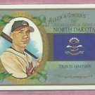 2008 Topps Allen & Ginters Travis Hafner North Dakota Cleveland Indians # US34