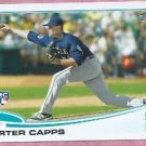 2013 Topps Baseball Carter Capps Seattle Mariners # 157 Rookie