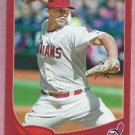 2013 Topps Baseball Target Red Justin Masterson Cleveland Indians # 63
