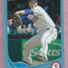 2013 Topps Baseball Walmart Blue Mark Lowe Texas Rangers # 57