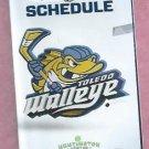 2012 2013 Toledo Walleye Pocket Schedule ECHL