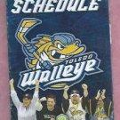 2010 2011 Toledo Walleye Pocket Schedule ECHL
