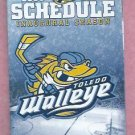 2009 2010 Toledo Walleye Pocket Schedule ECHL