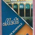2009 New York Mets Pocket Schedule Citi Field