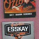 2011 Baltimore Orioles Pocket Schedule