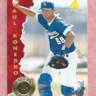 1995 Pinacle Paul Konerko Los Angeles Dodgers Rookie # 170