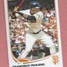 2013 Topps Baseball Series 2 Francisco Peguero San Francisco Giants # 564