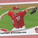 2013 Topps Baseball Series 2 Stephen Strassburg Washington Nationals # 500
