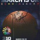 2011 Big 10 Basketball Tournament Program William Buford Autograph Ohio State
